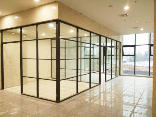 璧山人民医院安装玻璃隔断案例