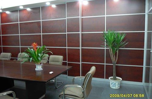 重庆办公室内板墙隔断