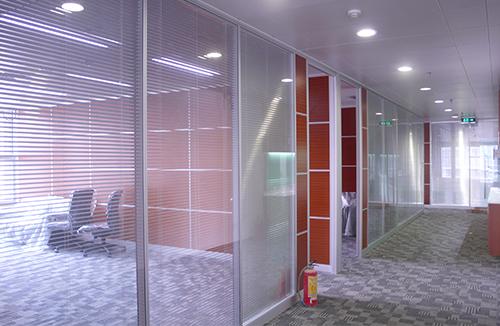 多格型双层玻璃隔断