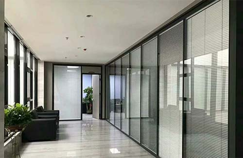 普及型双层玻璃隔断
