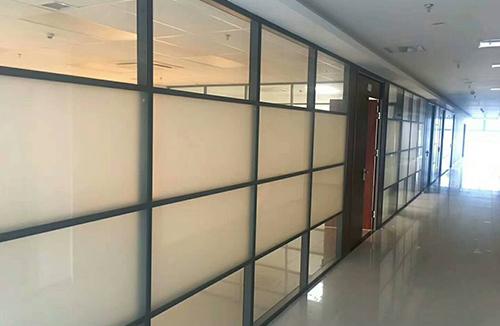 多格型单层玻璃隔断