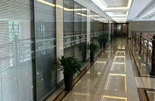 重庆双层磨砂玻璃隔断