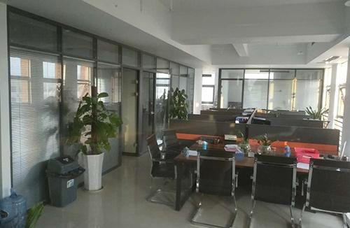 天门双层办公室玻璃隔断